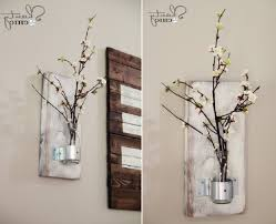 diy rustic home decorating ideas home art