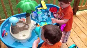 water table for 5 year old water table fun youtube