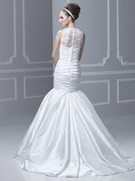 enzoani wedding dress strapless lace accent gown blue by enzoani bridal gown