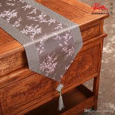 luxury damask table runner patchwork cherry blossoms table runners chinese knot luxury damask