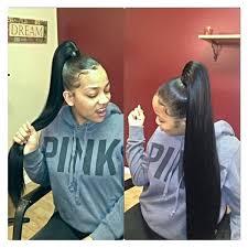 slick back weave hairstyles 231 best ponies ponytails images on pinterest braids