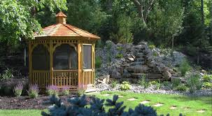 Patio Gazebos by Patio Gazebo For Your Backyard Built By The Amish In Pa Nj Ny