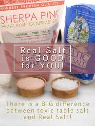 sea salt and table salt real salt which is celtic sea salt himalayan pink salt is good for