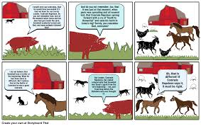 animal farm comic strip cont storyboard by marianhervias