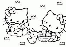 kitty coloring sheet coloring