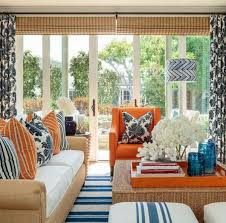 blue and orange decor online interior design decorating services people living rooms