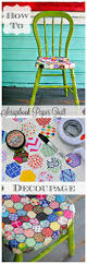 Diy Transfer Mueble Paso A Paso How To Decoupage Furniture In A A Quilt Pattern With Scrapbook