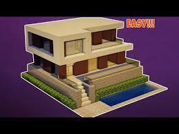 membuat rumah di minecraft minecraft tutorial cara membuat rumah modern 16