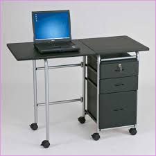 Small Laptop Desk Inspirational Small Laptop Desk Puter Tables With Small Wheel