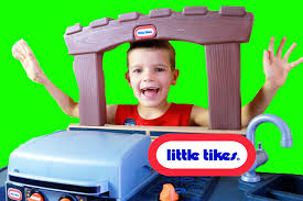 baby cooking little tikes cook n play outdoor bbq grill toby