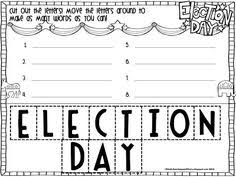 election day worksheets social studies ideas pinterest