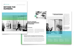 brochure layout template cerescoffee co