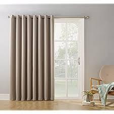 amazon com brown drapes for sliding glass door door blinds