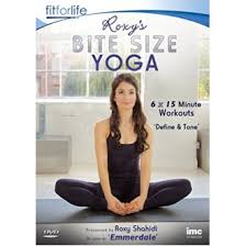 emmerdale season series dvd roxys leyla from emmerdale itv1 bite size yoga define and tone 6