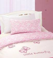 Duvet Cover Cot Bed Size Butterfly Cot Bedding Ebay