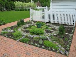Herb Garden Layout Backyard With Decorative Herb Garden Layout Herb Garden