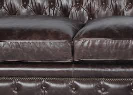 Leather Sofas Charlotte Nc by Brown Leather Sofa With Nailheads