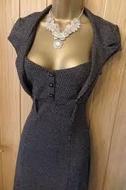 14 Black Black Jane Norman Women U0027s Lace Up Bodycon Dress New