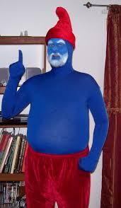 papa smurf makeup rumpuboy4 deviantart