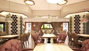 cafe interior 007 v2 3d cgtrader