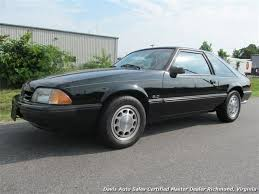 1989 ford mustang 4 cylinder 1989 ford mustang lx 5 0 37664 black hatchback automatic for