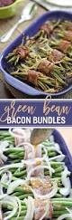 best thanksgiving side dish recipes green bean bacon bundles the speckled palate