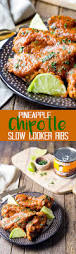 slow cooker pineapple chipotle ribs eazy peazy mealz