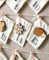 woodland ornament advent calendar countdown to