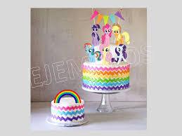 my pony cupcake toppers my pony my pony cake topper my pony