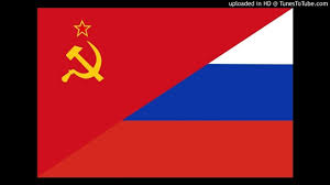 Russian Czar Flag Soviet Anthem Vs Anthem Of The Russian Federation Youtube