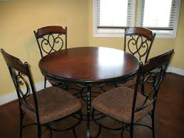 dining table round glass top dining table with attractive