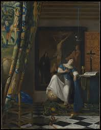 johannes vermeer allegory of the catholic faith the met