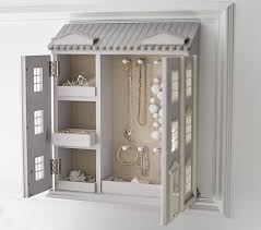 Jewellery Cabinets For Sale Dollhouse Jewelry Cabinet Pottery Barn Kids