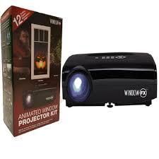 halloween lights at walmart seasonal window fx projector animated window display kit 75050 thd