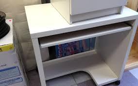 desk with keyboard tray ikea desk hideaway computer desk wondrous narrow hideaway computer desk