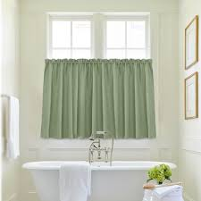 online shop waffle weave textured tier kitchen curtains for