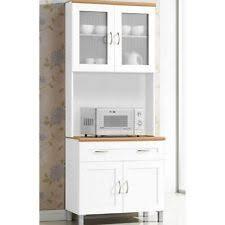 Cool Design White Kitchen Hutch Cabinet Perfect Buffet Kitchens - White kitchen hutch cabinet