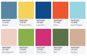pantone color forecast 2017 pantone colour forecast for spring 2017 shout