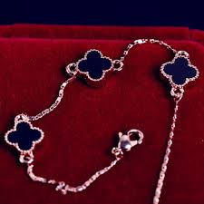 lucky leaf bracelet images Cheap gold 4 leaf clover find gold 4 leaf clover deals on line at jpg