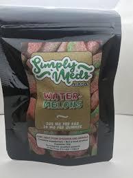 simply edible marijuana edible simply meds watermelons keep it green