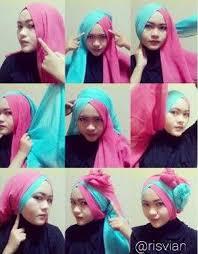 tutorial hijab paris ke pesta lifestyle fashion