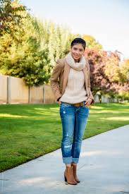 what to wear with light brown boots how to wear ankle booties with jeans