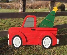 yard decorations100 year calendar outdoor christmas decorations diy truck christmas tree