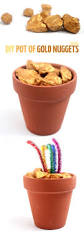 make a pot of gold nuggets rainbows craft and holidays