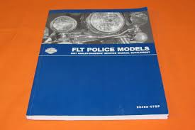 Harley Flt Police 2007 Electraglide Service Manual Supplement