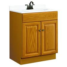 Oak Bathroom Furniture Design House Claremont 24 In W X 18 In D Two Door Unassembled