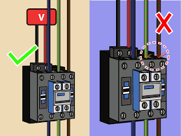 220 Air Compressor Wiring Diagram How To Wire A Contactor 8 Steps With Pictures Wikihow