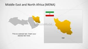 middle east map ppt iran political outline in middle east region powerpoint map