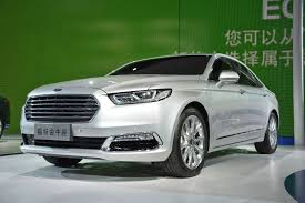 Ford Taurus Width Raging Bull Next Ford Taurus Unveiled At 2015 Shanghai Auto Show