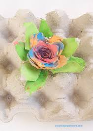 egg carton flowers an amazing craft for all ages creative